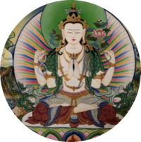 ONLINE Tibetische Puja – Tschenresig/Bodhisattva des Mitgefühls – mit Yesche